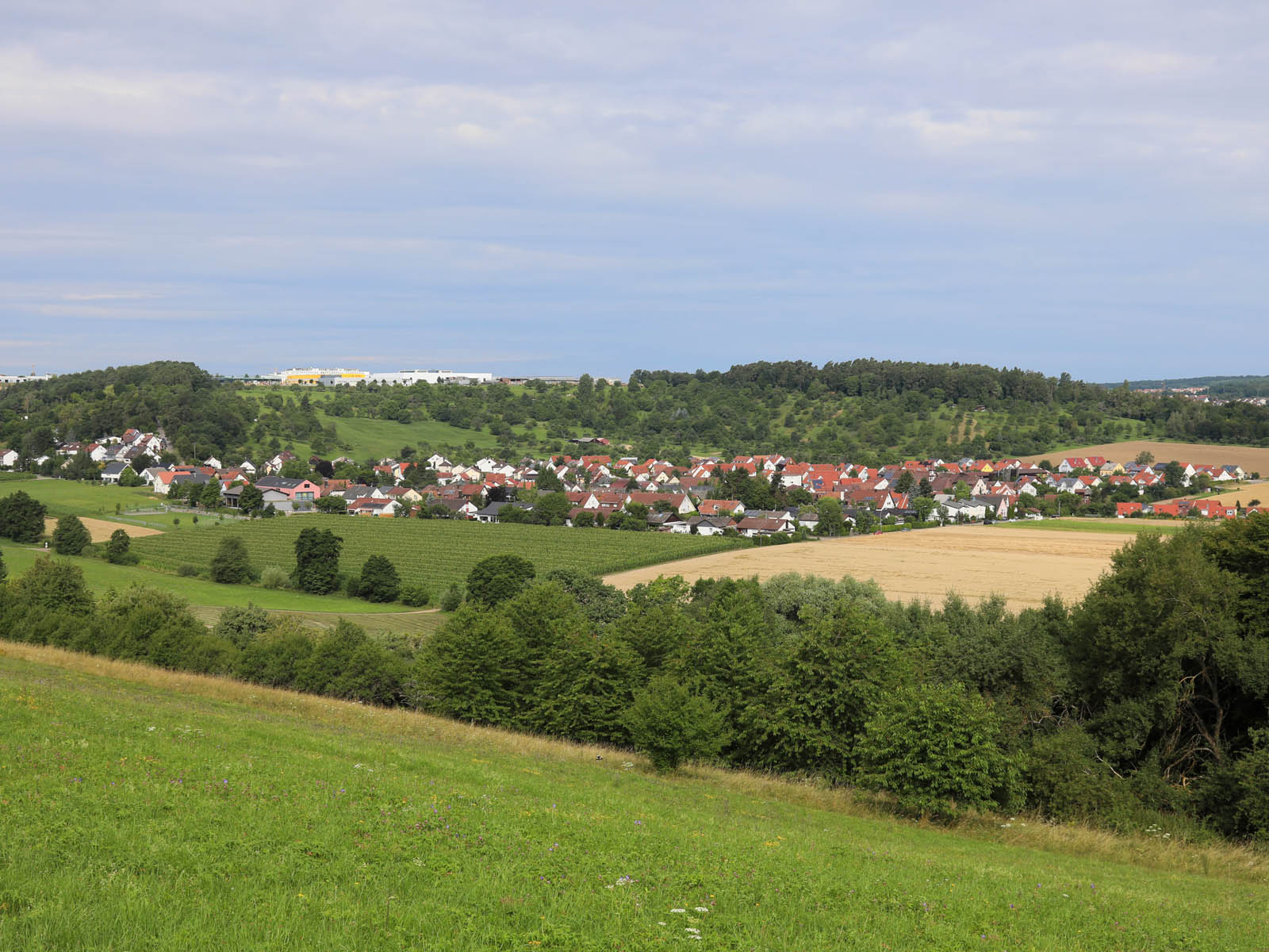 Ansicht auf Breitenstein