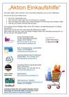 Übersicht Anbieter Einkaufshilfen