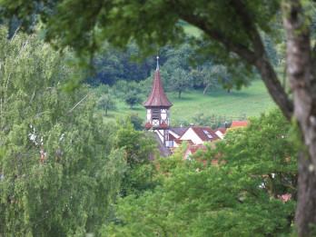 Ansicht auf die Breitensteienr Georgskirche